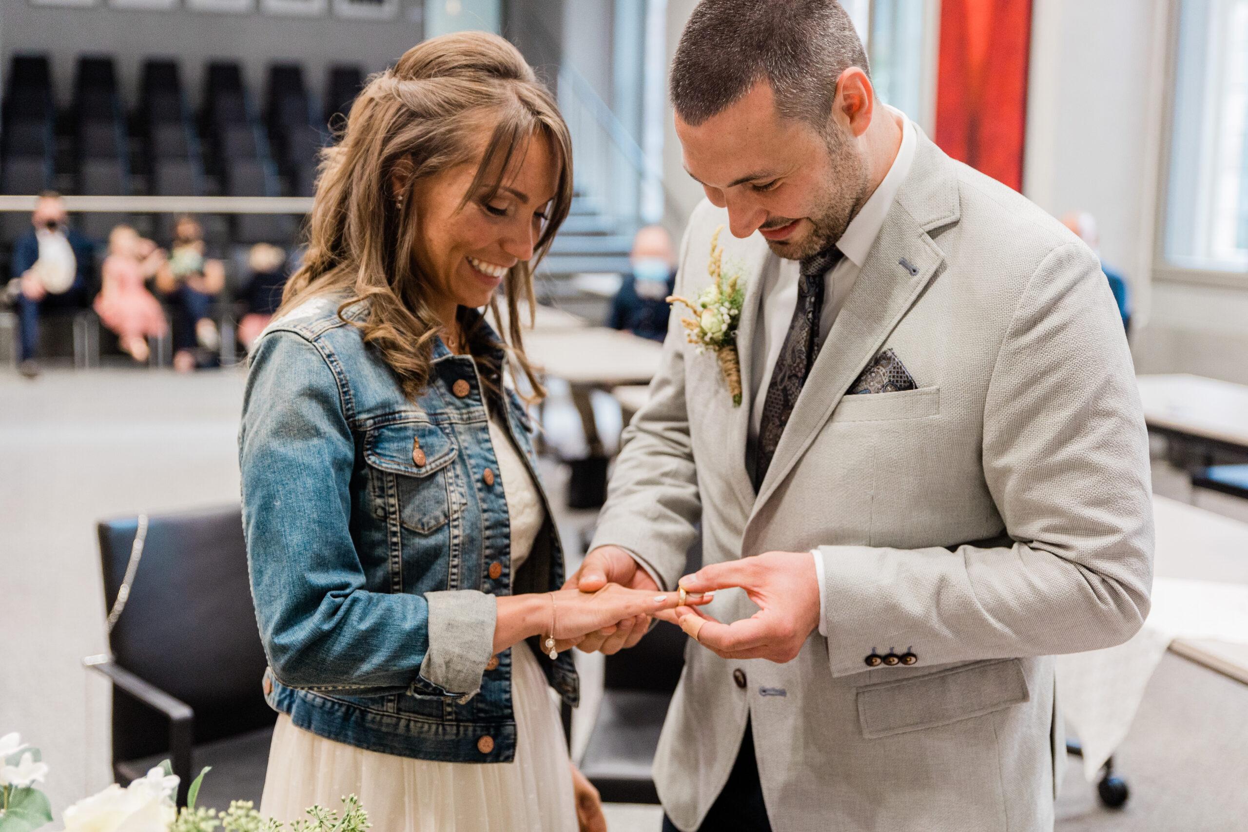Swetlana & Simon Hochzeit Standesamt Lemgo